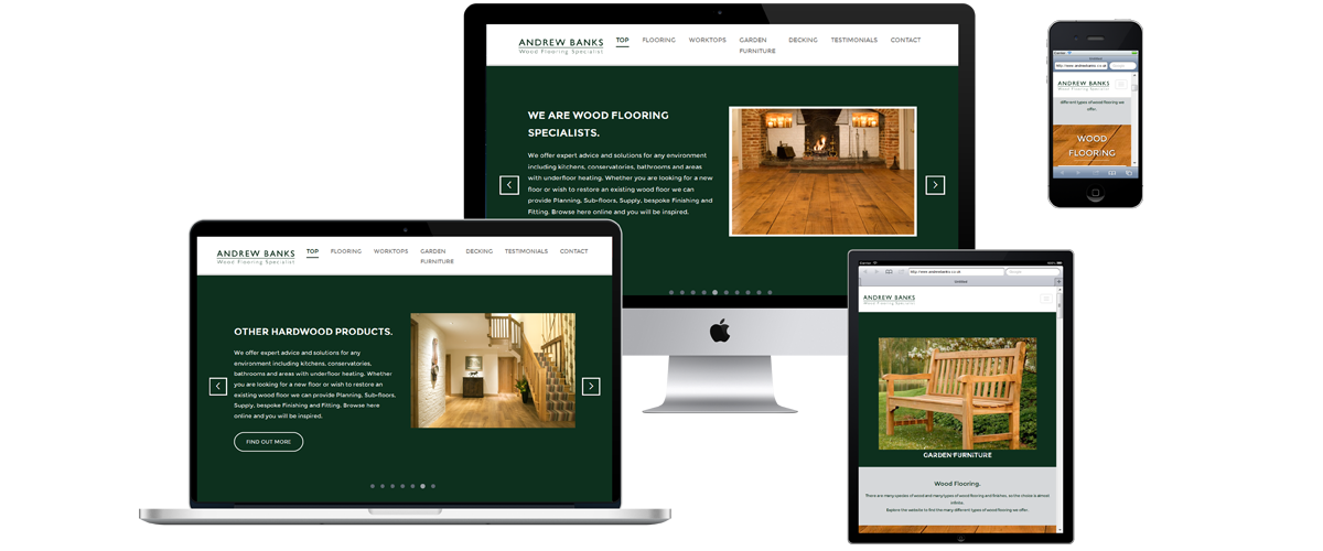 Andrew Banks Re-Brand - Web Design and Branding