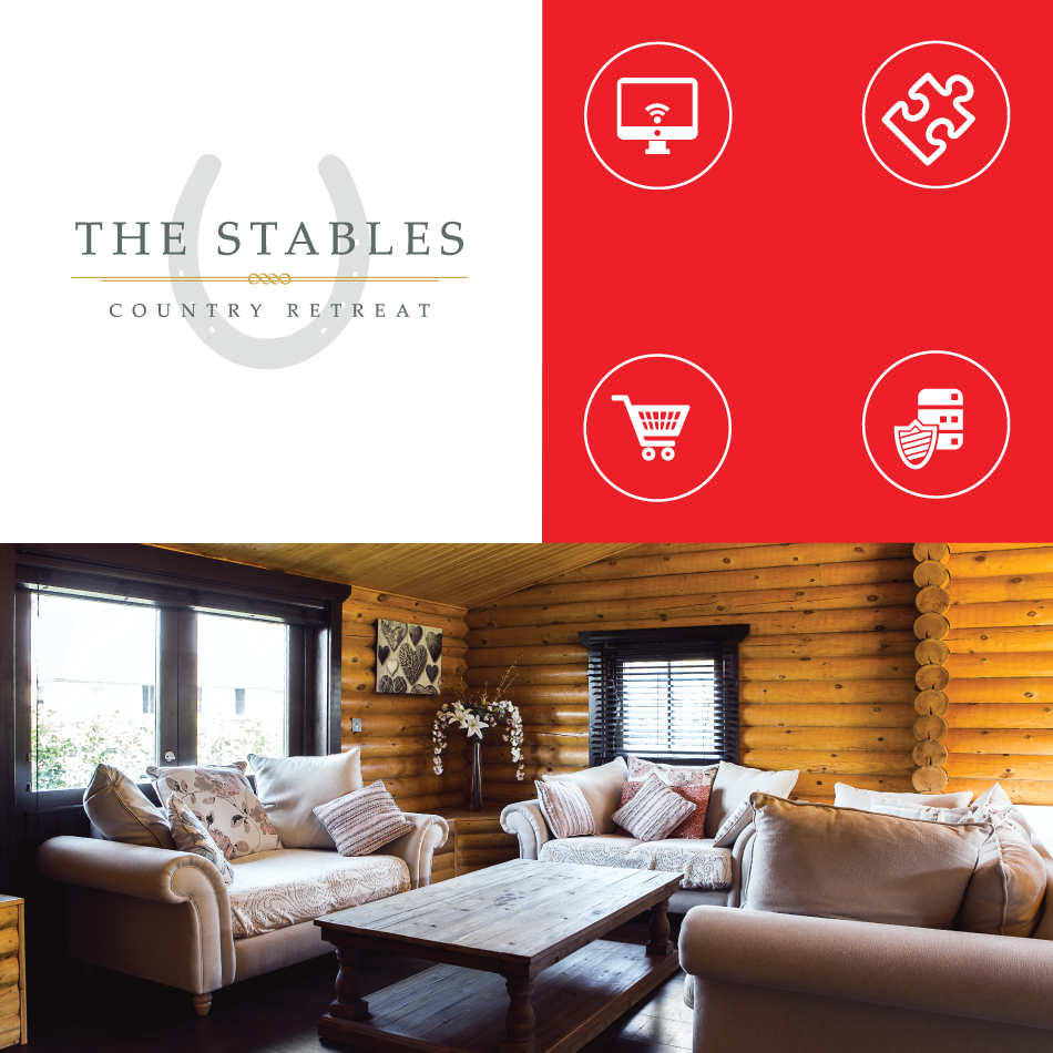 Radish Creative - The Stables Country Retreat website design
